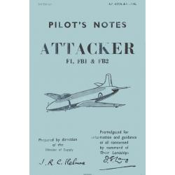 Supermarine Attacker F.I, FBI, & FB2