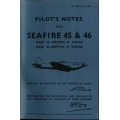 Seafire 45 & 46 Pilots Notes  $2.95