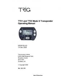 Trig TT21 and TT22 Mode S Transponder Installation Manual 00559-00-AD