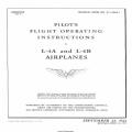 Piper L-4 and L-4B Airplanes Pilot's Flight Operating Instructions 01-140DA-1 $4.95