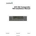 Garmin  GTX 3X5 Transponder TSO Installation Manual 190-0149902 Rev 4