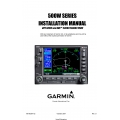 Garmin 500W Series Installation Manual GPS500W and GNS 530W/530AW/TAWS 190-00357-02 $19.95