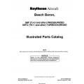 Beech Baron 58P(TJ-3) to 58TC(TK-1) 102-590000-7E4  Illustrated Parts Catalog $29.95