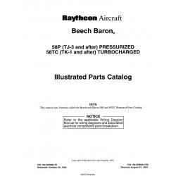 Beech Baron 58P(TJ-3) to 58TC(TK-1) 102-590000-7E4 $29.95