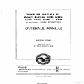 Pratt & Whitney Wasp Jr. (985) B4, B5, Wasp (R-1340) S1H1, S1H2, S3H1, S3H2, S3H1-G, & S1H4 Overhaul Manual Part No.123440