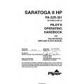Piper Saratoga II HP PA-32R-301 (SN 3246018 & UP) Pilot's Operating Handbook