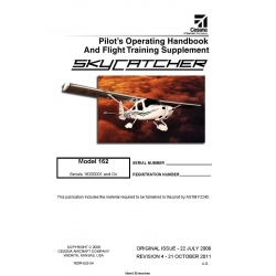 Cessna 162 Pilot's Operating Handbook 162 PHUS-04 Rev. 2011 162PHUS-04