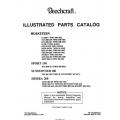 Beechcraft  19, 23, 24 Series Parts Catalog 1995 $19.95