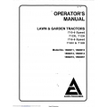 Allis Chalmers Model 1690211, 1690367 Speed 710-6 Operator's Manual $4.95