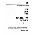 Cessna 172 Series Parts Catalog 1975-1986 $19.95