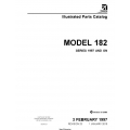 Cessna 182 & T182 Illustrated Parts Catalog (Series 1997 AND ON) 182SPC23 182SPC $29.95