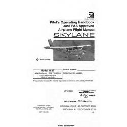 Cessna Model 182T NAV III POH (G1000) Avionics $29.95