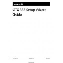 Garmin GTX 335 Setup Wizard Guide 190-01499-40