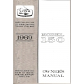 Cessna Model 150 Owners Manual (1969) $6.95