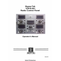 Sigma-Tek 1U619-001 Radio Control Panel Operator's Manual 2002 $2.95