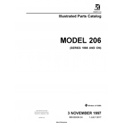 Cessna Model 206 (Series 1998 and ON) Illustrated Parts Catalog 206HPC24