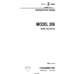 Cessna Model 206 (Series 1998 and ON) Illustrated Parts Catalog 206HPC25