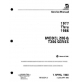 Cessna 206 & T206 Series 1977 thru 1986 Service Manual $19.95