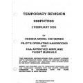 Cessna Model 208 Series Pilot's Operating Handbooks & Flight Manual Temporary Revison 208PHTR03 $19.95