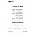 Beechcraft King Air 90 Series Maintenance Manual 90-590012-13B P/N 90-590012-13B23 v11 $29.95