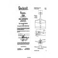 Beechcraft Bonanza F33A CE-290 thru CE-673 Pilot's Operating Handbook and FAA Approved Airplane Flight Manual 35-59000-15A5 $ 13.95