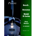 Beech Bonanza Model 35 Series Shop Manual 35-590096B21