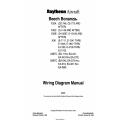 Beechcraft Bonanza F33A F33C V35B A36 A36TC B36TC Wiring Diagram Manual (35-590102-9E) (35-590102-9E1) $29.95