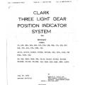 Clark Three Light Gear Position Indicator System For Beechcraft $8.95