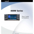 Garmin 400W Series  Pilot's Guide & Reference $19.95