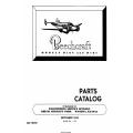 Beechcraft Model D18S nad D18C Parts Catalog 404-180151 $19.95