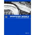 Harley Davidson 2011 Sportster Model Service Manual 99484-11A