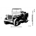 1/4 TON 4x4 Truck (Willys-Overland Model MB & Ford Model GPW) $9.95