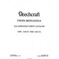 Beechcraft Twin Bonanza D50E 1960-1984 (DH-301 THRU DH-347) Parts Catalog 50-590041-13A2 $29.95
