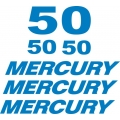 Mercury 50 HP Boat Motor Decal/Sticker!