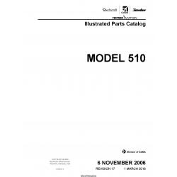 Cessna Model 510 Illustrated Parts Catalog 510PC17 $35.95