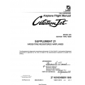 Cessna Model 525 525-0001 Thru-0359 Citation Jet Airplane Flight Manual 525FM-S21-02 $29.95