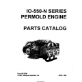Continental Model IO-550-N Series Permold Engine Parts Catalog IPC550N