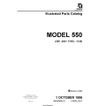 Cessna Model 550 (550-0801 Thru-1136) Bravo Illustrated Parts Catalog $35.95