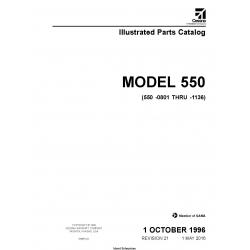 Cessna Model 550 (550-0801 Thru -1136) Bravo Illustrated Parts Catalog 55BPC21 $29.95