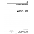 Cessna Model 560 Illustrated Parts Catalog 56PC29 $29.95