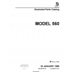 Cessna Model 560 Illustrated Pats Catalog 56PC30 $35.95