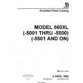 Cessna Model 560XL (-5001 thru -5500) (-5501 and ON) Illustrated Parts Catalog 56XPC35 $29.95