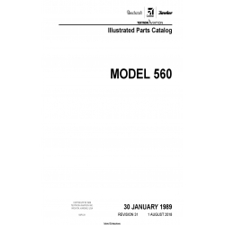 Cessna Model 560 Illustrated Parts Catalog 56PC31 $35.95