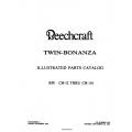 Beechcraft Twin-Bonanza B50 CH-12 THRU CH-110 Parts Catalog Rev.1984 50-590041-1A2