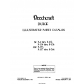 Beechraft Duke 60 A60 Parts Catalog 60-590001-1D3 $29.95