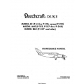 Beechcraft Duke Model 60 (P-4 thru P-126 except P-123)  A60 (P-123, P-127 thru P-246) B60 (P-247 and after) Maintenance Manual 60-590001-25A1B
