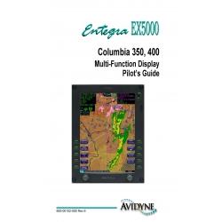 Avidyne EX5000 Columbia 650, 400 Multi-Function Display Pilot's Guide 600-00102-000 Rev 6 $9.95