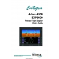 Avidyne Adam A500 EXP5000 Primary Flight Display Pilot's Guide 600-00139-000 Rev 1