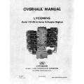 Lycoming Overhaul Manual 60294-2  VO-435-A Series. $13.95