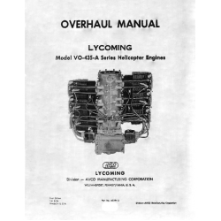 Lycoming Overhaul Manual 60294-2  VO-435-A Series